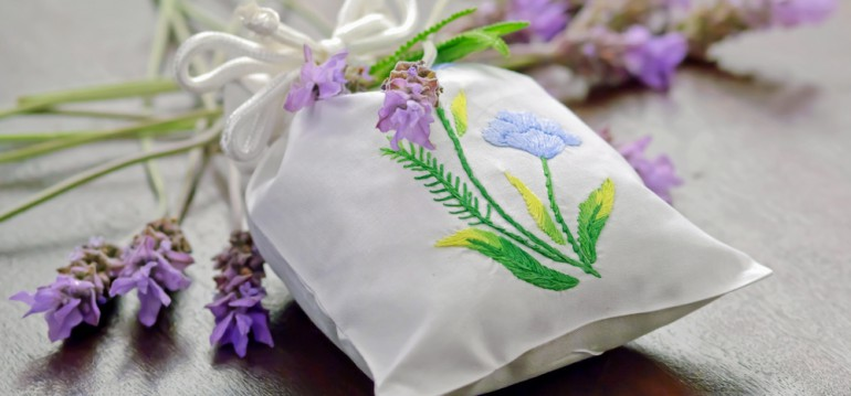 Lavendel - Säckchen - Entspannung - DIY - Franks kleiner Garten