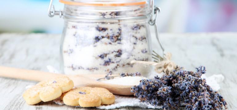 Lavendel - Zucker - Sommer - Ernte - DIY - Franks kleiner Garten