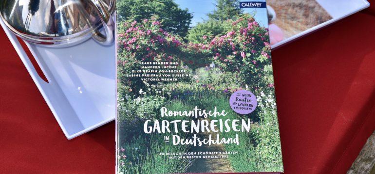 Buchkritik - Romantische Gartenreisen - frankskleinergarten