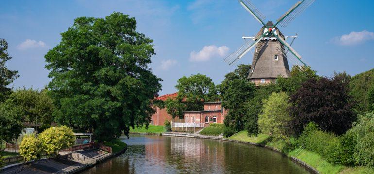 Ostfriesland - Mühle - frankskleinergarten.de