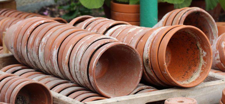 Nachhaltigkeit - Tontöpfe - Pflanzgefäße – Anzucht - Franks kleiner Garten