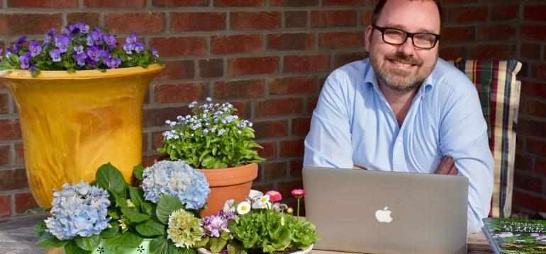 Terrasse - Büro - Frank - Franks kleiner Garten