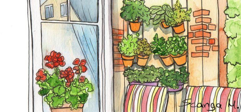 Vertikales Gartnern Ein Garten Fur Terrasse Und Balkon