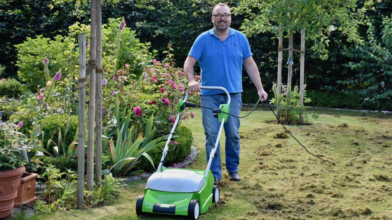 Rasen - Vertikutierer - Franks kleiner Garten