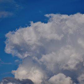 Wolken - Wetterstation - Franks kleiner Garten