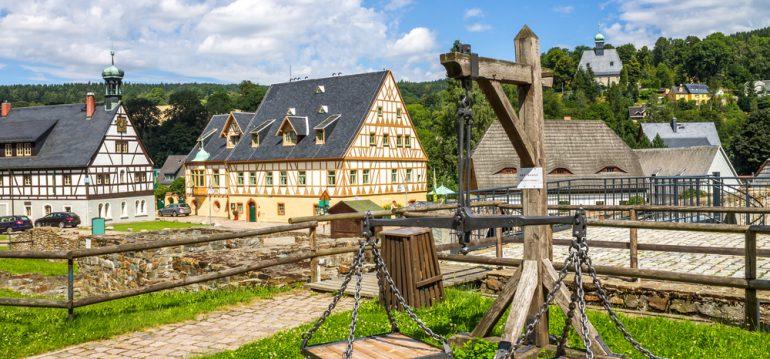Olbernhau - Saigerhütte - August - Franks kleiner Garten