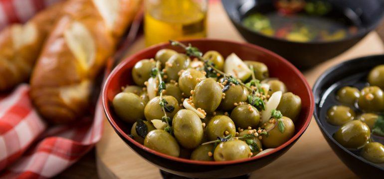 Olivenbaum - Eingelegte Oliven - Franks kleiner Garten