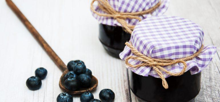Blaubeeren - Marmelade - Franks kleiner Garten