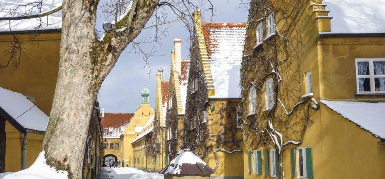 Januar - Augsburg - Franks kleiner Garten