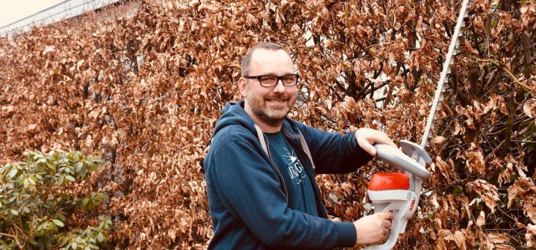 Herbstputz - IKRA - Heckenschere – Heckenschnitt - Franks kleiner Garten