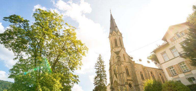 Juni - Termine - Schlangenbad - Kirche - Franks kleiner Garten