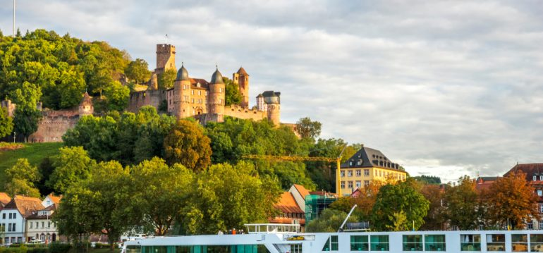 Juli - Wertheim - Schloss - Main - Franks kleiner Garten