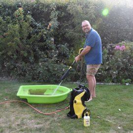 Kärcher - Boot - Reinigung – Franks kleiner Garten