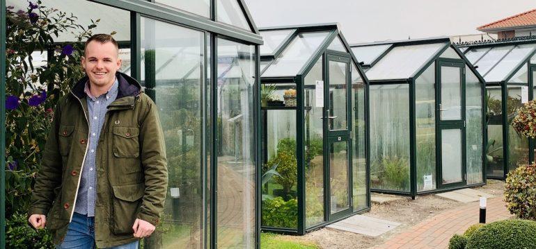 Gewächshaus - Hoklartherm - Produktmanager - Jan Weber - Franks kleiner Garten