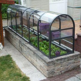 Gewächshaus - Hoklartherm - Terra - Terrassenbeet - Franks kleiner Garten