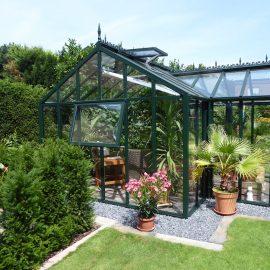 Gewächshaus - Hoklartherm - York T-line - Franks kleiner Garten