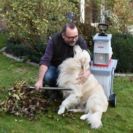 IKRA - Häcksler - Frank mit Bruno - Franks kleiner Garten