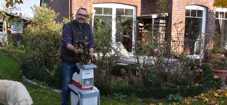 IKRA - Häcksler - Franks kleiner Garten