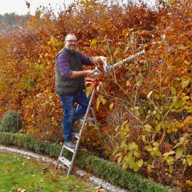 IKRA - Ultralight Heckenschere FHS 1545 von IKRA - Hecke - Franks kleiner Garten