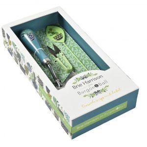Geschenkbox - Geschenk-Set - Burgon & Ball - Brie Harrison Geschenk-Set mit Gartenschaufel, Schere und Pflanzenstecker - Box 01 - Franks kleiner Garten