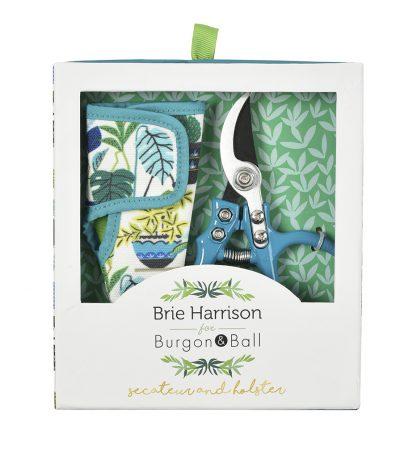Geschenkset - Gartenschere mit Holster - Brie Harrison 2 - Box - Burgon & Ball - Franks kleiner Garten