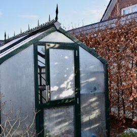 Gewächshaus - Hoklartherm - Pferdetür - Winter - Franks kleiner GartenGewächshaus - Hoklartherm - Pferdetür - Winter - Franks kleiner Garten