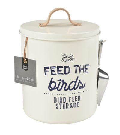 Vorratsdose für Vogelfutter – Creme - Burgon & Ball - Franks kleiner Garten