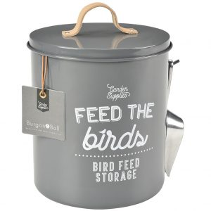 Vorratsdose für Vogelfutter – Grau - Burgon & Ball - Franks kleiner Garten