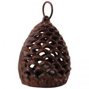 Windlicht - Pinecone - Tannenzapfen - klein - Produktbild 02 - Esschert Design - Franks kleiner Garten