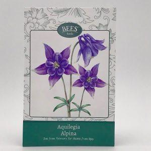 Akelei - Alpina - Saatgut - Samentütchen - Bees Seeds - Franks kleiner Garten