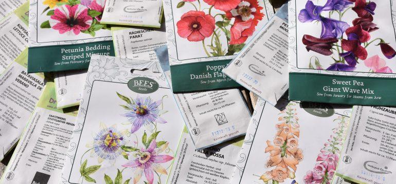 Nachhaltig - Anzucht - Samentütchen - Hoklartherm - Franks kleiner Garten