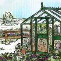 Gewächshaus - Februar - Hoklartherm - Franks kleiner Garten