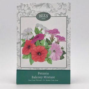 Petunien-Mischung für den Balkon - BEES Seeds - Blumensamen - Samentütchen - Franks kleiner Garten