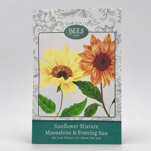 Saatgut - Samentütchen - Sonnenblume - Mondschein & Nachmittagssonne - Bees Seeds - Franks kleiner Garten
