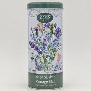 Saatgutshaker - Vintage Blue - Samen - BEES Seeds - Franks kleiner GartenHEIC