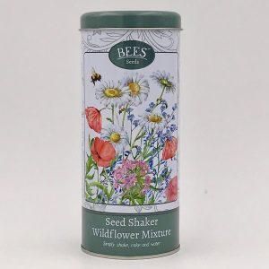 Samenshaker - Wildblumenmix - Bienenfreundlich - BEES Seeds - Franks kleiner Garten