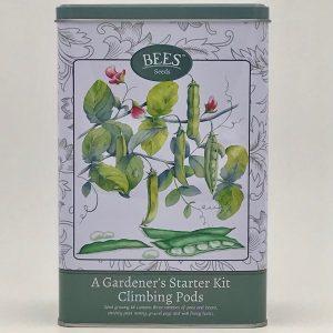 A Gardener's Starter Kit - Climbing Pods - Saatgut - Anfänger -Bohnen - BEES Seed - Franks kleiner Garten