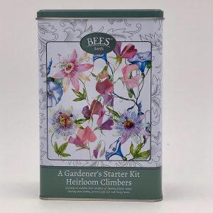 A Gardener's Starter Kit - Heirloom Climbers - Blütenpracht - Kletterpflanzen - BEES Seeds - Front - Franks kleiner Garten