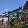 Gewächshaus - Hoklartherm - Frühling - Aussen - Franks kleiner Garten