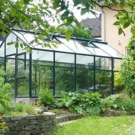 Gewächshaus - Hoklartherm - Schattierung - Mai - Franks kleiner Garten