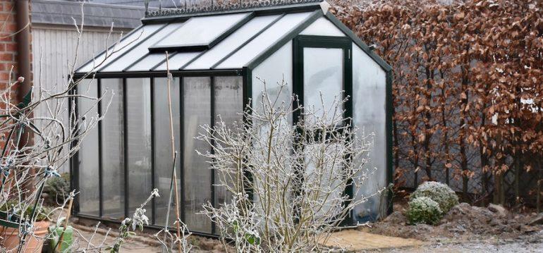 Gewächshaus - Hoklartherm - Dezember - Frost - Winter - Franks kleiner Garten
