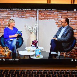 AstroTV - Interview - Berlin - März 2019 - Stars in Gummistiefeln - Franks kleiner Garten