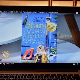 AstroTV - Interview - Buchpräsentation - März 2019 - Stars in Gummistiefeln - Franks kleiner Garten