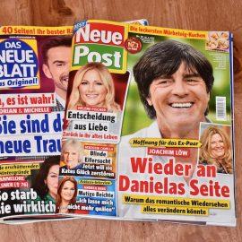 Buchtipp - Das Neue Blatt - Neue Post - Stars in Gummistiefeln - Franks kleiner Garten