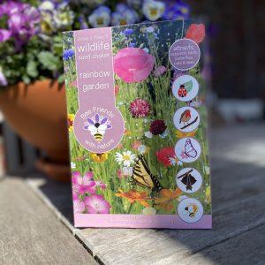 Saatgut - Blumensamen - Satgut-Shaker - Bee Friends - rainbow garden - Cover - Shop - Franks kleiner Garten