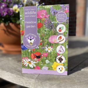 Saatgut - Saatgut-Shaker - Blumensamen - Nützlinge - meadow garden- wildlife - Cover - Shop - Franks kleiner Garten