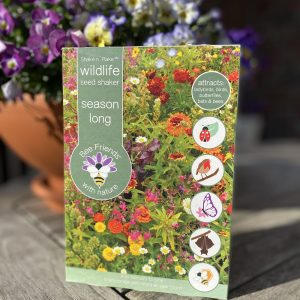 Saatgut - Saatgut-Shaker - Blumensamen - Nützlinge - season long - wildlife - Cover - Shop - Franks kleiner Garten