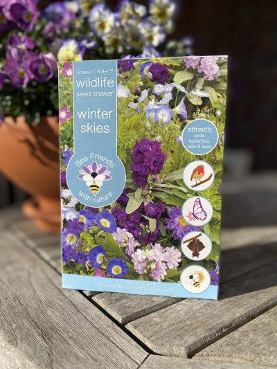Saatgut - Saatgut-Shaker - Blumensamen - Nützlinge - winter skies - wildlife - Cover - 2 - Shop - Franks kleiner Garten