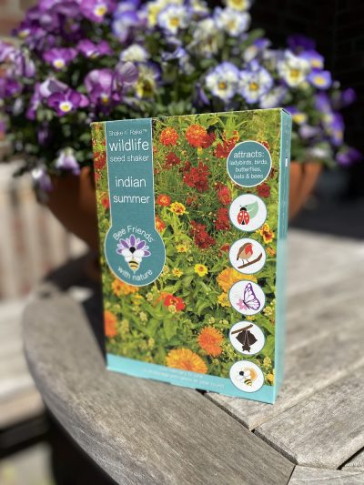 Saatgut - Samenmischung - Blumensamen - Saatgut-Shaker - Bee Friends - indian summer - Cover - 3 - Shop - Franks kleiner Garten