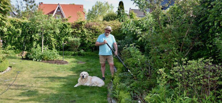 Rückenschmerzen - Gartengeräte - Fiskars - Teleskopstiel - Bruno - Franks kleiner Garten